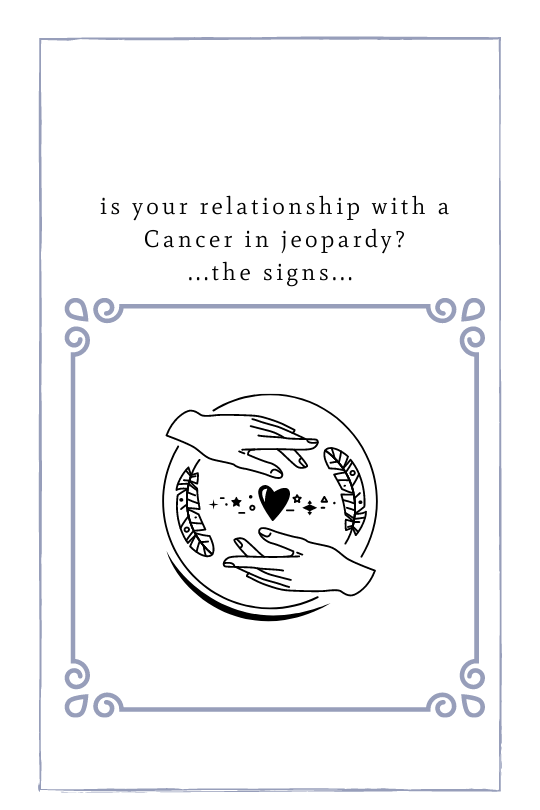 Cancer Relationship Reg Flags
