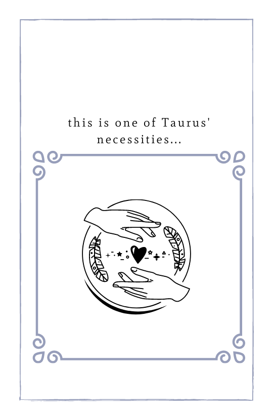 Take Some You Time, Taurus